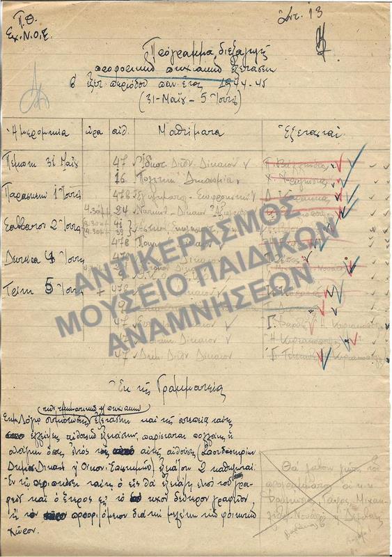ΠΑΝΕΠΙΣΤΗΜΙΑΚΟ ΕΤΟΣ 1945-1946