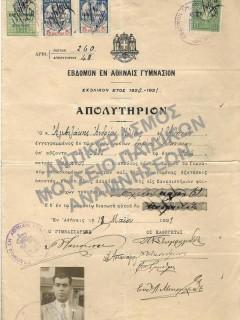 ΑΠΟΛΥΤΗΡΙΑ-ΑΠΟΔΕΙΚΤΙΚΑ ΥΠΟΨΗΦΙΩΝ ΦΟΙΤΗΤΩΝ (259 ΑΠΟ ΤΟ ΣΥΝΟΛΙΚΟ ΑΡΧΕΙΟ ΤΩΝ 1906 ΑΠΟΛΥΤΗΡΙΩΝ)