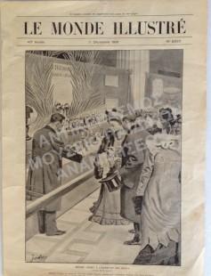 Η ΣΥΖΥΓΟΣ ΤΟΥ ΓΑΛΛΟΥ ΠΡΩΘΥΠΟΥΡΓΟΥ MADAM LOYBET ΣΤΗΝ ΕΚΘΕΣΗ ΠΑΙΧΝΙΔΙΩΝ, 1901